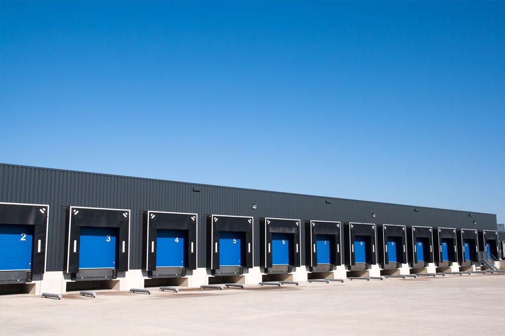Logistik- und Speditionsgebäude
